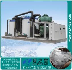 混凝土降温水冷片冰机